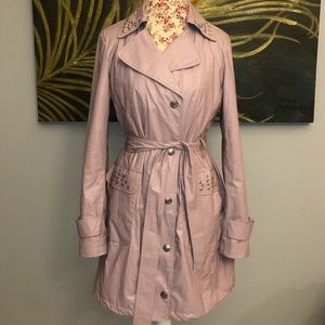 Via Spiga Light purple trench coat